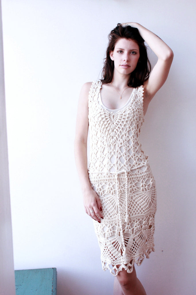 Open Weave Dress - Lex & Lynne