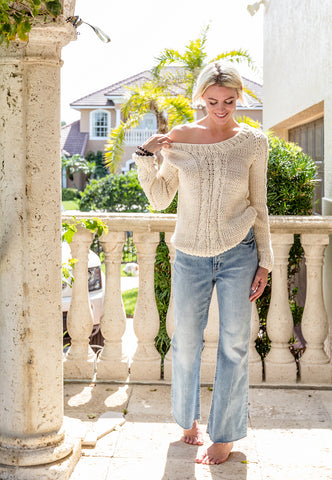 Classic Cable Knit Sweater