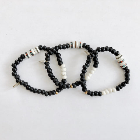 Multi-Beaded Bracelet - Lex & Lynne