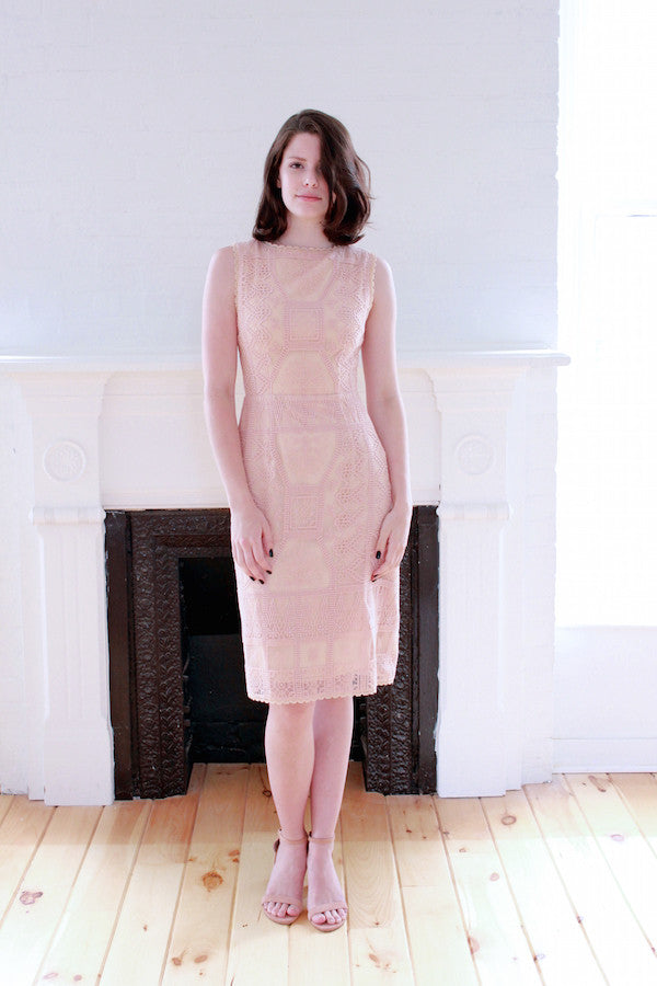 Blush Cocktail Dress - Lex & Lynne