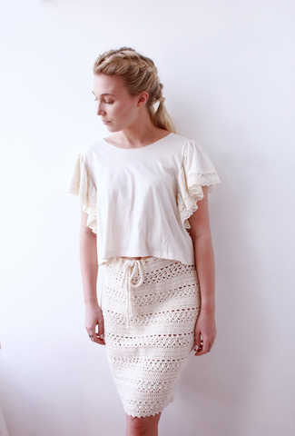 Knit Pencil Skirt - Lex & Lynne