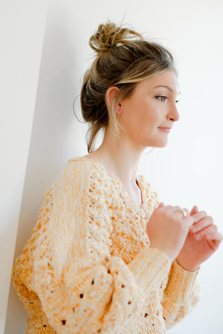 Marigold Cotton Sweater