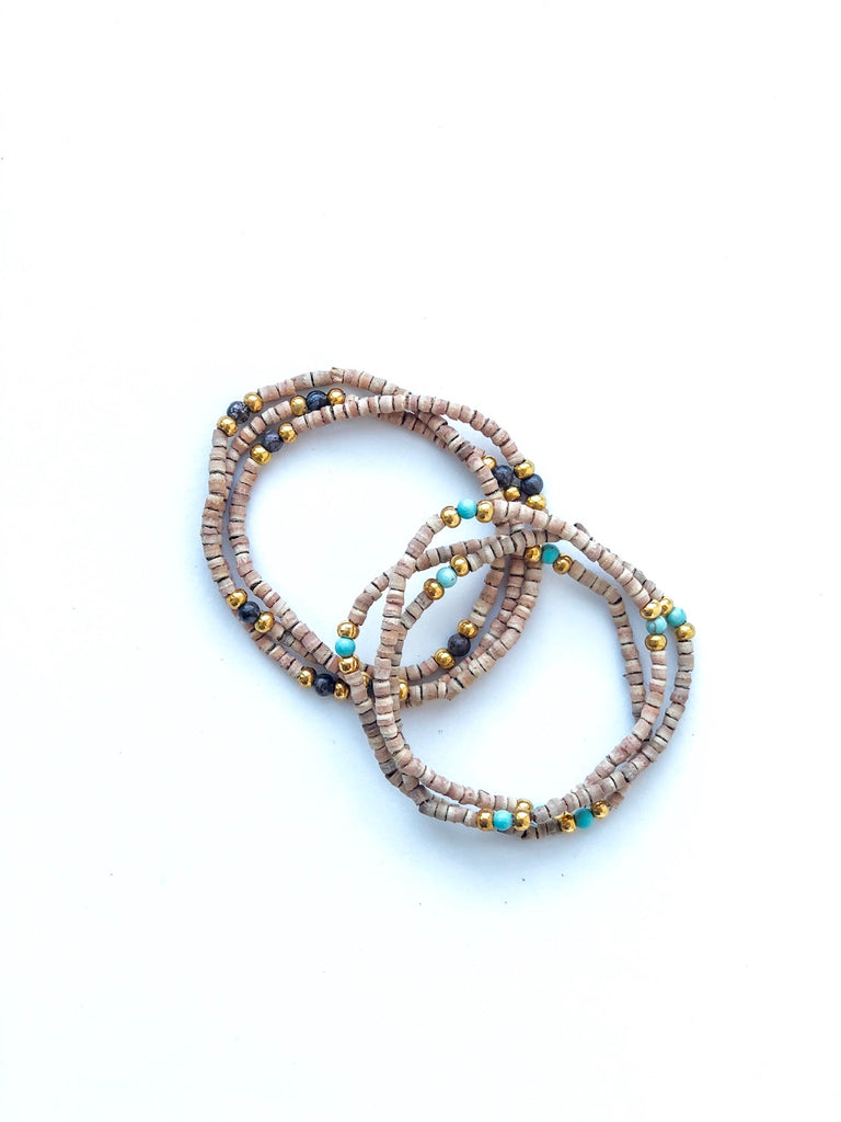 Jasper Small Beaded Bracelet - Lex & Lynne