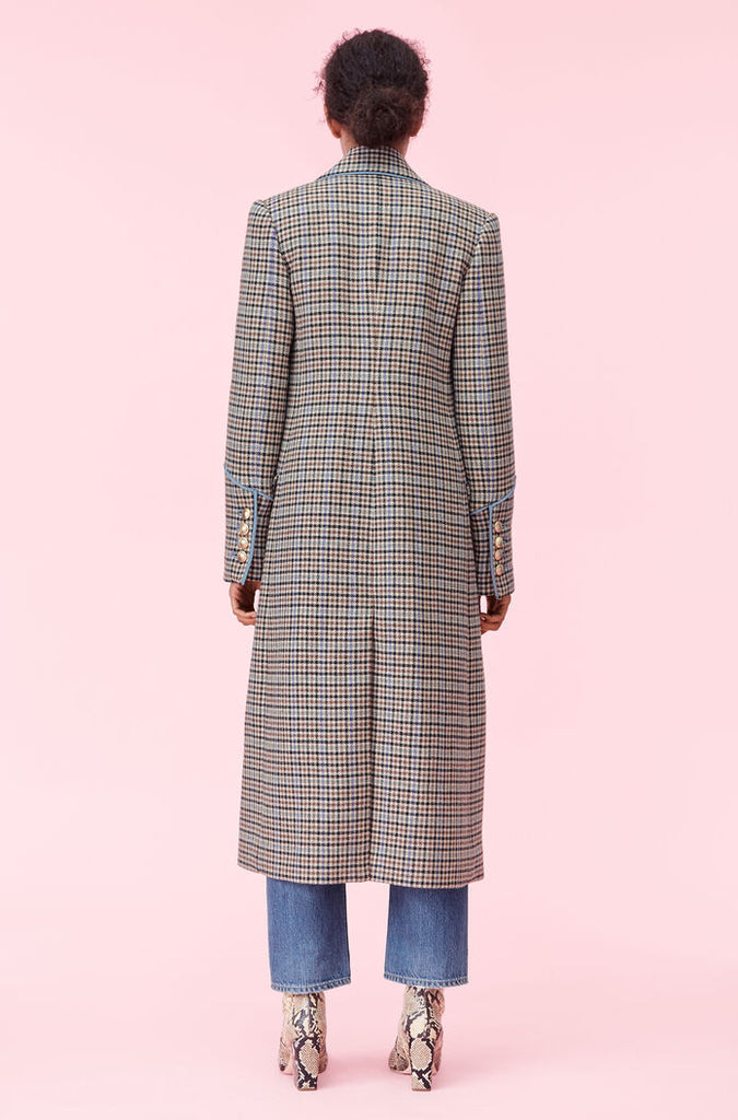 Houndstooth Coat - Lex & Lynne