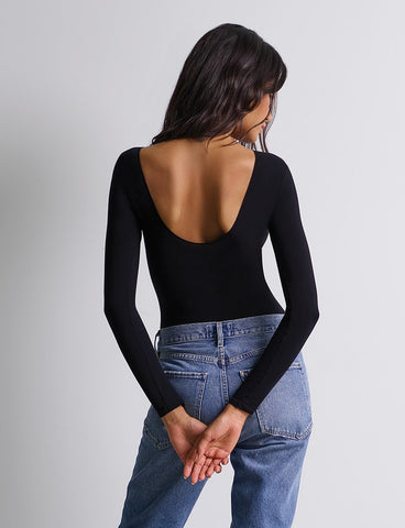 Ballet Scoop-Back Bodysuit
