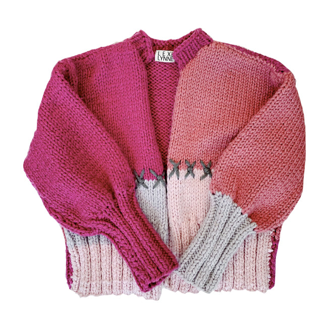 Merilee Cardigan in Pink