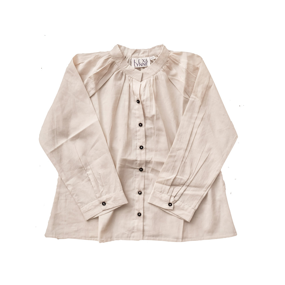 Natural Cotton Blouse - Lex & Lynne