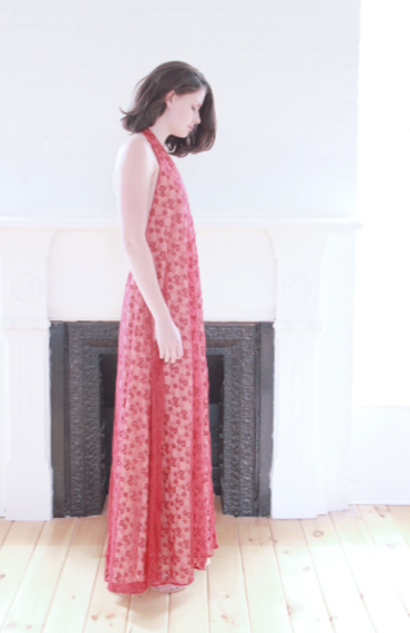 Embroidered Maxi Dress - Lex & Lynne