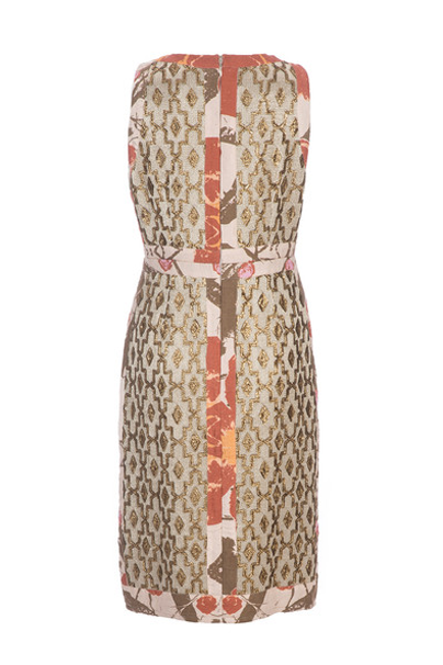 Mixed Media Sheath Dress - Lex & Lynne