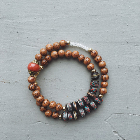 Laila Gemstone Bracelet // Multi Color Options