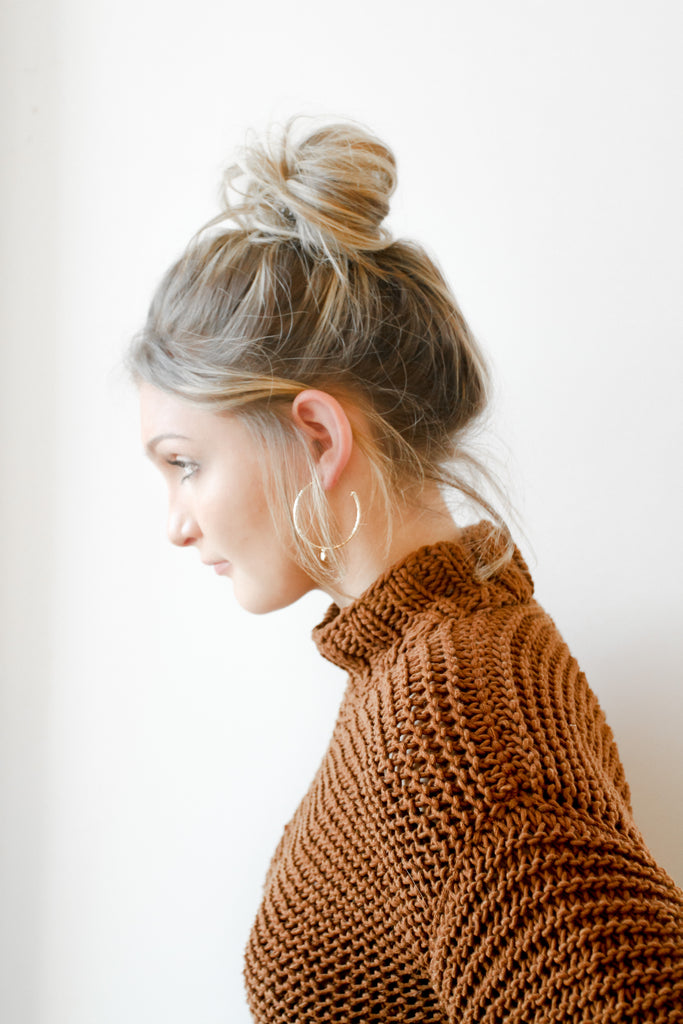 Café Cotton Sweater - Lex & Lynne