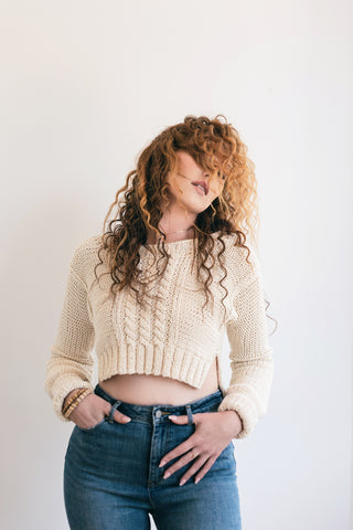 Knit Crop - Lex & Lynne