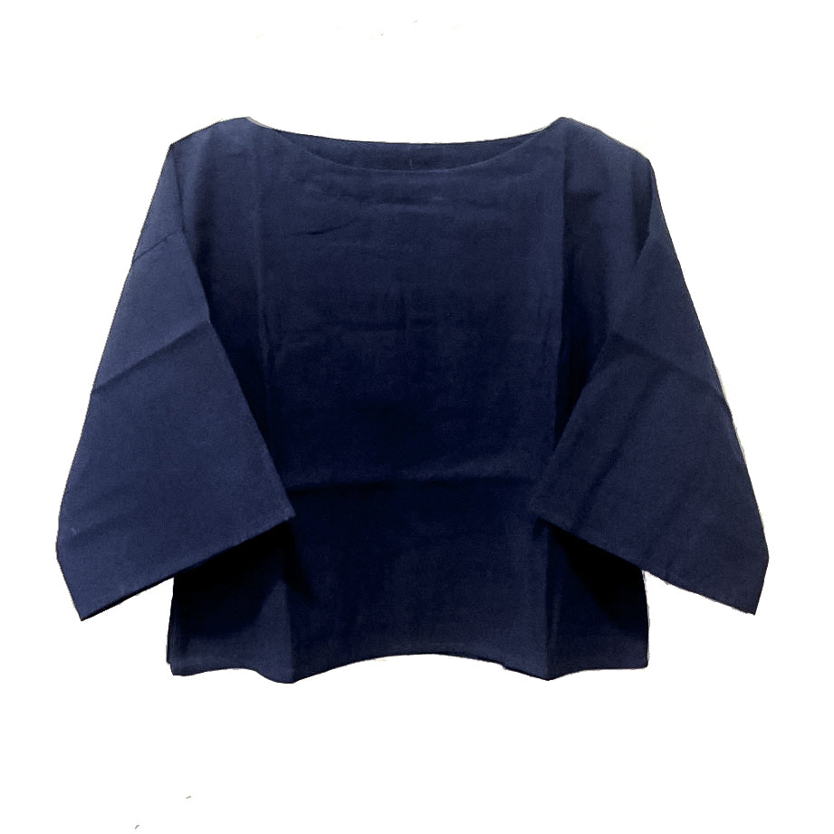 Indigo Cotton Top - Lex & Lynne
