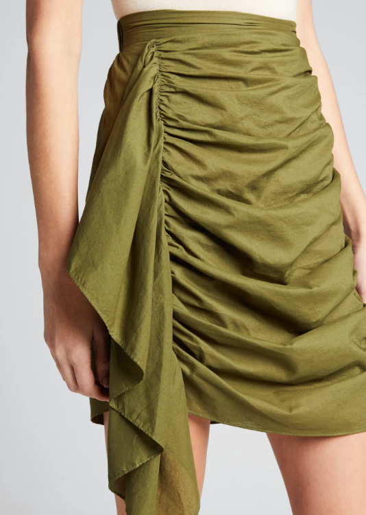 Hannah Skirt in Crocodile - Lex & Lynne