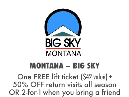 2017 MTBparks Pass members receive a free Big Sky Bike Park lift ticket plus 50% off return visits all summer.