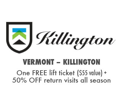 Get a Free Lift Ticket, Plus 50% OFF return visits at Killington Bike Park, VT.
