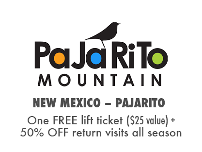 One FREE Day at Pajarito Bike Park + 50% OFF additional visits!