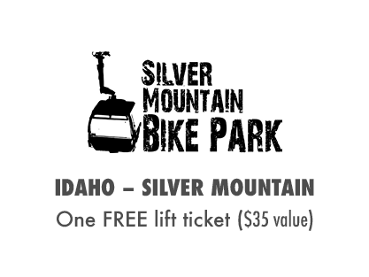 One FREE Day at Silver Mountain Bike Park!