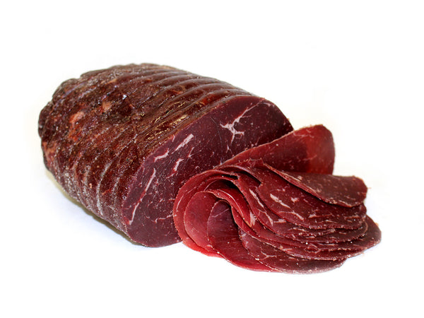 Imported Bresaola, Similar to Bündnerfleisch (with nitrates)