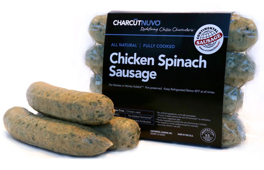 Chicken Spinach Sausage