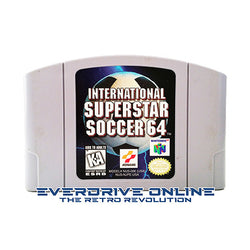 International Superstar Soccer 64 [Nintendo 64] NTSC