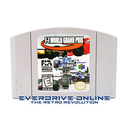 F-1 World Grand Prix [Nintendo 64] NTSC