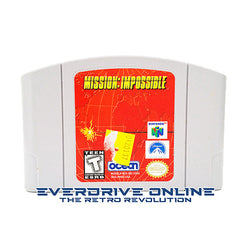 Mission: Impossible [Nintendo 64] NTSC
