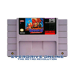 Genghis Khan II: Clan of the Gray Wolf [Super Nintendo] NTSC