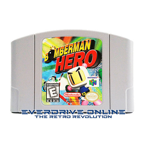 Bomberman Hero [Nintendo 64] NTSC