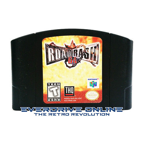 Road Rash 64 [Nintendo 64] NTSC