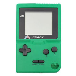 "GB Boy 2.45"" Classic Pocket Teal Handheld Game Console"