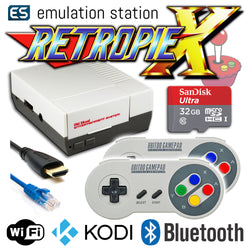 RETROPIE/X 32Gb NES Classic Video Game Emulator + KODI [2x SFC30]