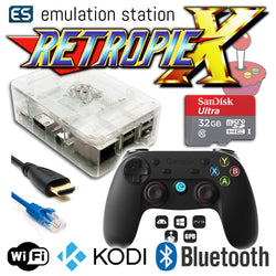 RETROPIE/X 32Gb Video Game Emulator + KODI [Clear/GameSir]