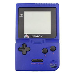 "GB Boy 2.45"" Classic Pocket Blue Handheld Game Console"