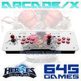 ARCADE/X Classic Retro 645 IN 1 Game Heroes Of The Storm 3 Console