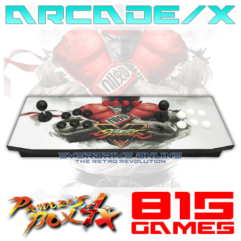 ARCADE/X Super Retro 815 IN 1 Game Pandora's Box 4X Console