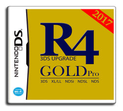 2017 R4i SDHC GOLD PRO Classic Edition [Nintendo DS/3DS]