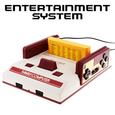 Mini FAMICOM Entertainment System Classic Game Console [NTSC/PAL]