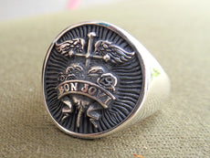 Bon Jovi 3D Ring Sterling Silver 925
