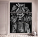 Ghost Wall Canvas