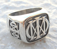 Dream Theater Ring Sterling Silver 925
