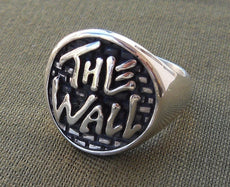 The Wall 3D Rings Sterling Silver 925