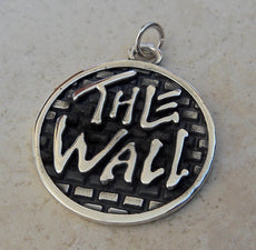Heavy 3D Pink Floyd The Wall Pendant Sterling Silver 925