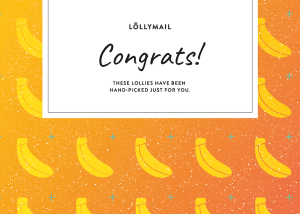 Congrats - Lolly Mail Gift Delivery