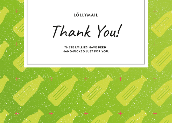 Thankyou - Lolly Mail Gift Delivery