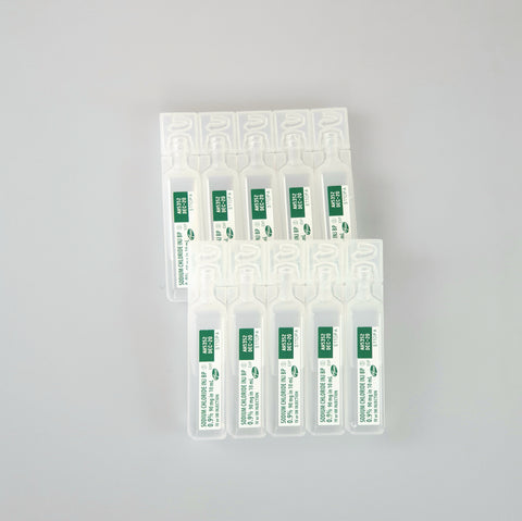 Sodium Chloride Injection 10 ml x 5 QTY