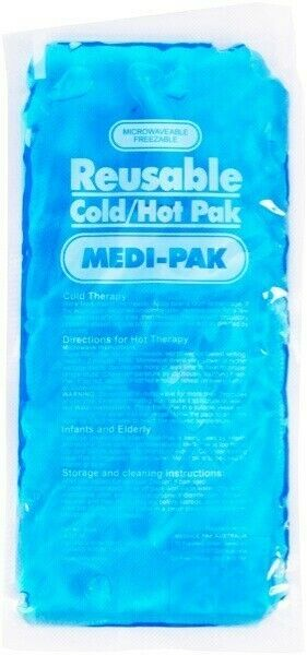 Medi-Pak Reusable Hot pak Cold Pak | Microwaveable Freezable