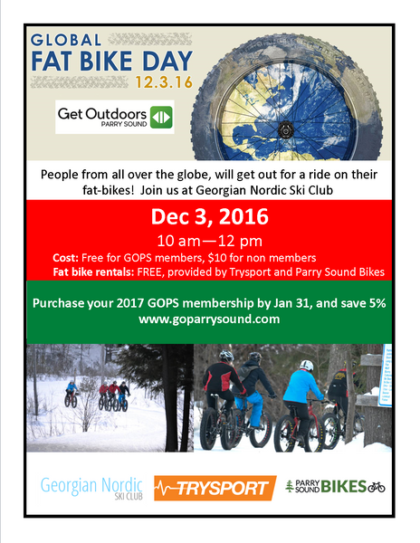 Global Fat Bike Day - Dec 3rd