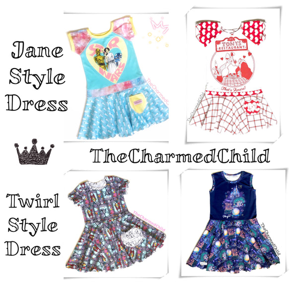 TheCharmedChild Jane/Twirl Dress Club Membership