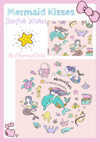 Mermaid Kisses * Starfish Wishes Pre-order